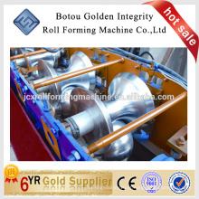 Usado Cor Steel Metal Roof Ridge Cap Tile Cold Roll formando máquina / Making Machine China