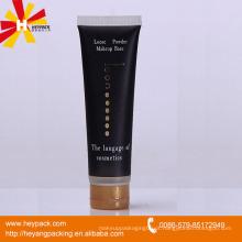 Tubo de cuidado de pele preta
