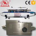 Obturador continuo automático portátil automatización selladora con elevación ajustable de la altura de cierre telescópico para bolsa de embalaje Vertical
