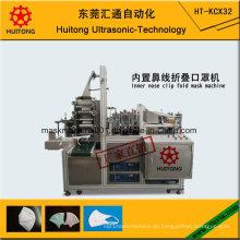 Automatische Ultraschall-Innenfalten-Masken-Maschine