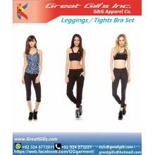 sports bra legging set / custom gym leggings / gym apparel