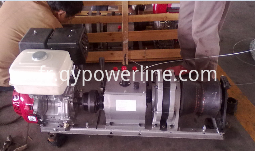 High Speed Gas Winch