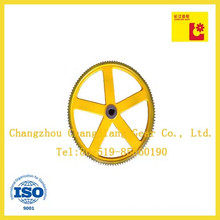 Painting Spraying Conveyor China Cast Iron Double Roller Chain Sprocket Wheel