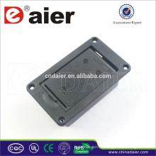 Daier 9V Batterieanschluss mit Schiebedeckel 9V Kunststoff Batteriehalter