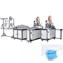 SKILT Fully Automatic 3-Layer Surgical Medical Mask Machine Packing Line