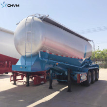 40CBM Bulk Cement Tanker Trailer Air Compressor