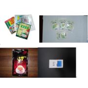 Pulver av fyrsidig tätning & multi-line förpackningsmaskin
