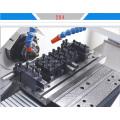 Machine de centre de rotation de tour de commande numérique par ordinateur de lit inclinable de tour multi de 20mm de diamètre