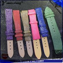 YXL-757 luxe Stingray cuir hommes ou femmes bracelet avec boucle ardillon en acier inoxydable