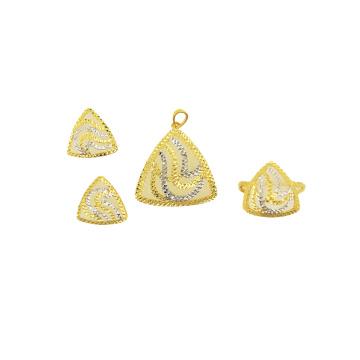 Arthouses New Fashion Emerald Slver Necklace Pendant Jewelry