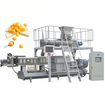 Ligne de machine de fabrication d'aliments pour collations soufflées au maïs