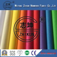 Regenbogen-Farben pp. Spunbond-nichtgewebtes Gewebe für Einkaufstaschen in China