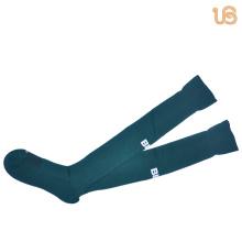 Chaussette de football en nylon couleur unie