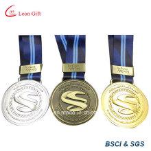 Médaille d'honneur métallique promotion avec ruban de cou