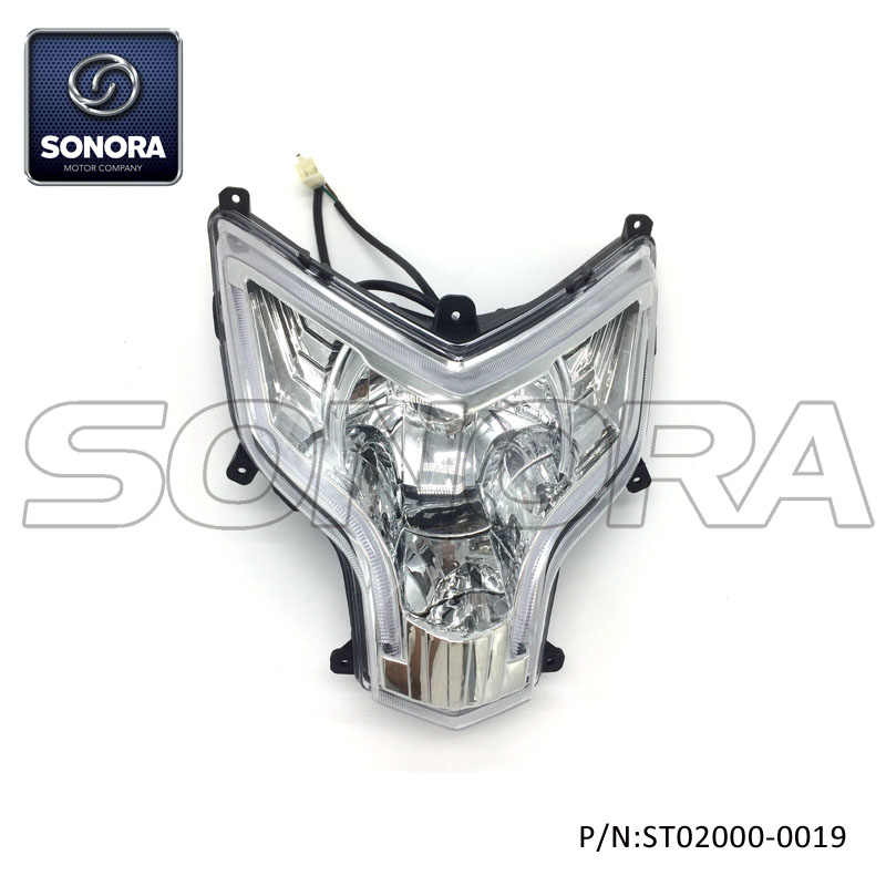 ST02000-0019 LONGJIA Spare part LJ50QT-3J headlight (3)