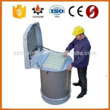 Alta calidad y alta eficiencia Tipo de chorro de aire y colector de polvo tipo vibrante para silo de cemento