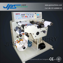 Automatische Pre-Printed Aufkleber Label Slitting Wickelmaschine