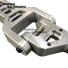 Aluminio anodizado personalizado de precisión de pieza CNC