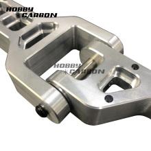 Precisão da peça CNC de alumínio anodizado personalizado