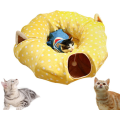 Cat Tube and Tunnel with Central Mat