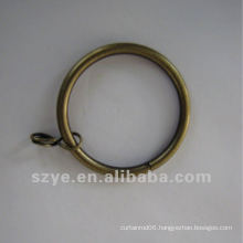 R06 curtain hanging metal iron curtain ring