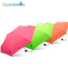 high quality japanese hot sell rain 5 fold fabric material umbrella
