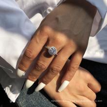 Fashion Ring Zircon Light Luxury Bracelet Personalized Fashion Street Photo Shiny Ring