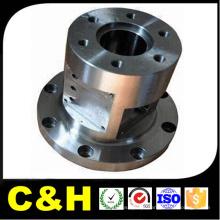 Acabamento natural de peças de aço inoxidável CNC para a máquina