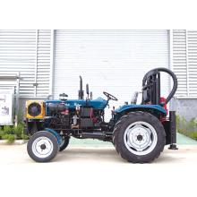Plataforma de perforación de tractor de gran diámetro para pozos de agua