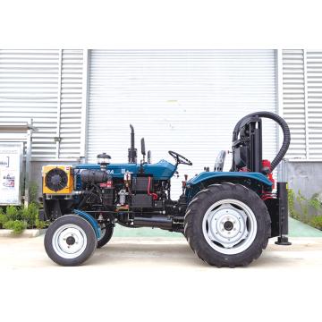 Тракторная буровая установка большого диаметра для водяных скважин