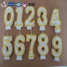 Vente directe nouveau conçu divers modèles double couche fabricant de bougie d'anniversaire