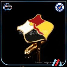 sedex 4p enamel plating gold superman cufflinks
