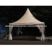Aluminum frame pagoda tent