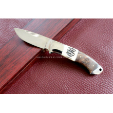 Madeira alça fixo faca (se-0470)