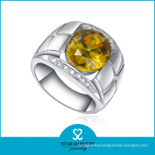 2016 New Designed Fashion Silver Topaz Ring (R-0062)