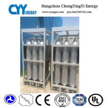 Serrure à citerne à dioxyde de carbone nitrogène à oxygène à haute pression