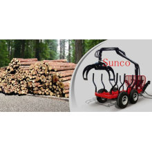 Forest Wood Grapple with Trailer