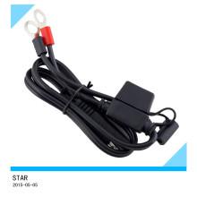 Kundenspezifischer Batterie-elektrischer Ring-Anschluss mit Verdrahtungs-Kabelbaum