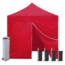 Кемпинг 4 стены на молнии Складная палатка с навесом 8x8