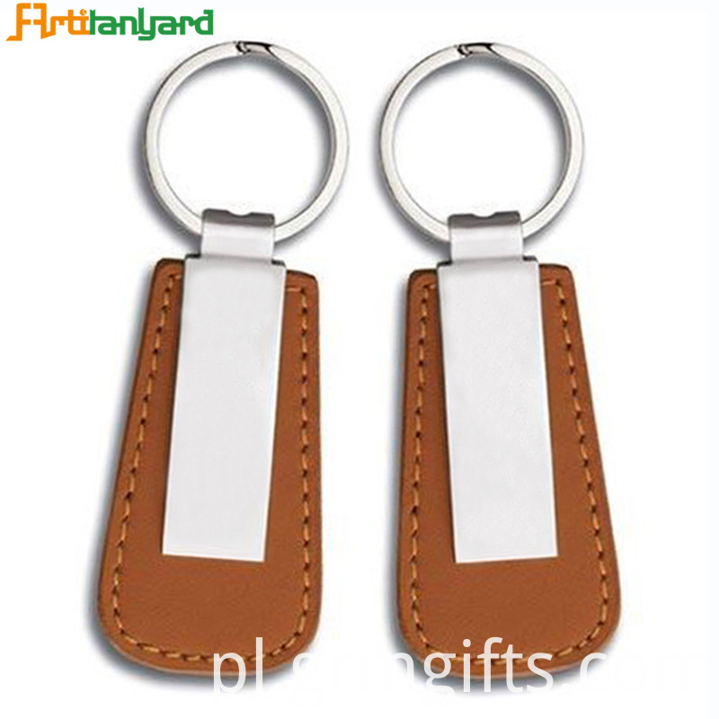 Leather Keychain Strap