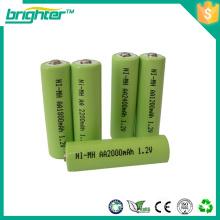 Paquet de batterie ni-mh aa 1200mah pour testeur d'alcool