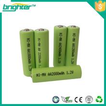 Pacote de bateria ni-mh aa 1200mah para testador de álcool