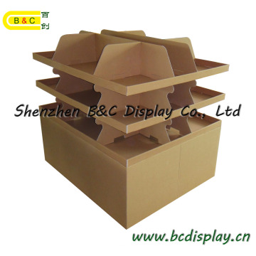 High Quality with Hot Selling Cardboard Counter Display Stand (B&C-C001)