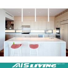 Популярные Европейский Стиль Белый лак кухонный шкаф мебель (АИС-K856)