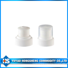 Hy-Cp09 28/400 White Push Pull Bottle Cap with Half Cover
