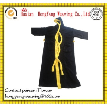 Sports Embroidery Logo Luxury Polyester Robe