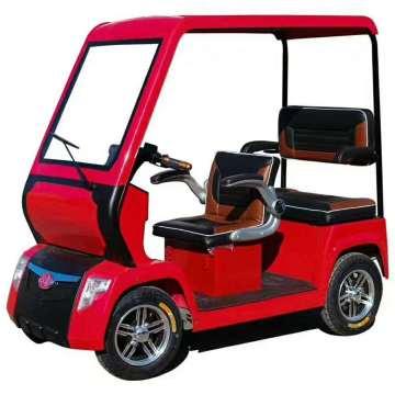 Rotes elektrisches Sightseeing-Auto