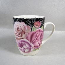 Etiqueta de la taza de café de cerámica