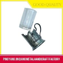 Support isolé de tasse, support portatif de tasse, support personnalisé de tasse de refroidissement en métal