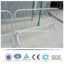 Barreira de controle de multidão de concerto portátil retrátil galvanizada (preço de fábrica)